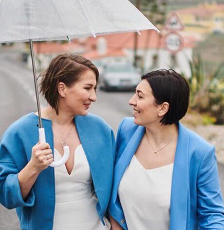 Дарья и Алина