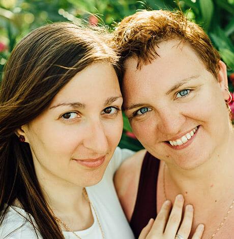 Тина и Ксения